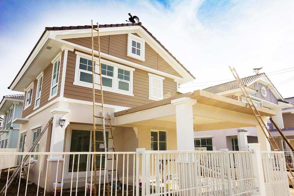 Exterior House Painting Brown