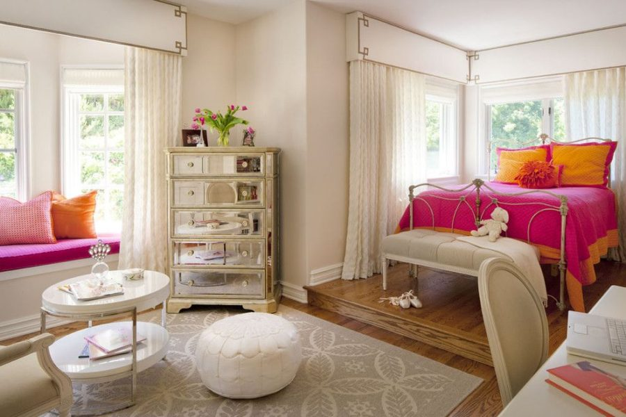 Modern Fashion Girl Room