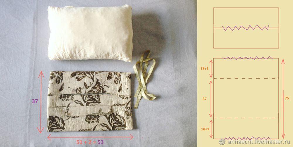Легкий способ сшить чехлы для декоративных подушек, фото № 3