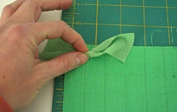 Делаем разметку на ткани