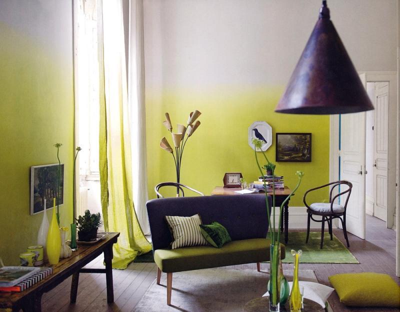 варианты покраски стен в доме фото готический стиль обрел