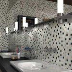 Дизайн ванны с зеркальной мозаикой – Ой!