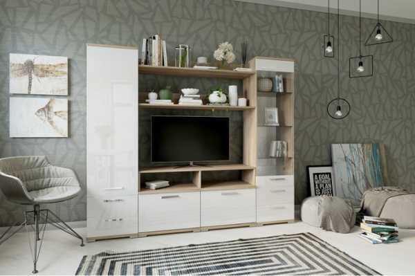 Системная и модульная мебель для гостиной